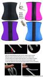 La talladora de la cintura del corsé del amaestrador de la cintura de Underbust del látex de las mujeres con el acero 9 deshuesó