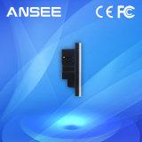 Interruptor de pared inteligente, panel de vidrio con indicador LED