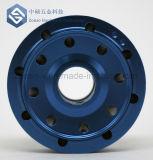 A precisão personalizada do OEM anodizou as peças fazendo à máquina do CNC colorido do alumínio/metal