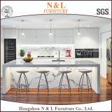N&L hölzerne Veener MDF-Hauptmöbel-modulare Küche