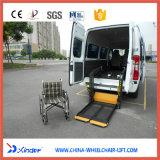 Elevador da cadeira de rodas da mobilidade para Van e minibus com capacidade de carregamento 350kg