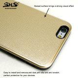 PC 2 de l'effet visuel TPU de pétrole en métal de Shs excellent dans 1 cas de téléphone cellulaire pour l'iPhone 6