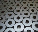 Cerámica piezoeléctrica del disco de cerámica piezoeléctrico ultrasónico del alúmina