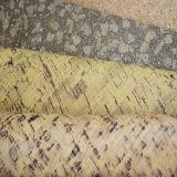 Cuir artificiel d'unité centrale des graines en bois chaudes de vente pour des chaussures, talons de chaussures, Outsoles (HS-Y15)