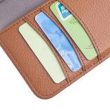 札入れのiPhone Seのための取り外し可能で分離可能な磁気背部シェルカバー