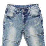 Fashion Frühling 2017 Männer gerade Denim-Jeans (MYX02)