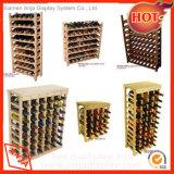 Деревянный шкаф держателя вина