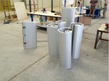 Revêtement en polyuréthane moulé en ébullition / enrouleur en polycarbonate Obturateur / mousse Aluminium Volets / Aluminium Volet roulant