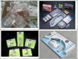 Caixa plástica automática de alta velocidade da bolha/empacotamento do cartão/Shrink/vácuo bolha da pele que dá forma à máquina