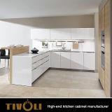Grijze Gelamineerde Keukenkasten van Modern Ktichen Nieuw ontwerp 2017 tivo-0083h
