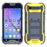 5 de Kern 4G Lte Ruwe Waterdichte Smartphone van de Vierling van de duim met 2+16GB van het Geheugen van de 5+13MP- Camera de Scanner van de Code van Qr van de 1d/2D- Streepjescode
