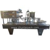 자동적인 플라스틱 쟁반 채우는 밀봉 기계