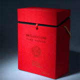 Hete het Stempelen van de Gift van de Druk van de douane Kartonnen Dozen voor Wijn