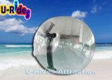 bola del agua del balompié del PVC del espesor de 1.0m m