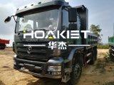 3000 venda quente do motor do caminhão de descarga 380HP de Shacman 6X4 Weichai em Tailândia