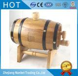 Barriles de vino barnizados de madera de roble 3L