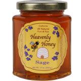 Da abelha de vidro quadrada do mel da qualidade frasco de colocação em latas com tampa do parafuso