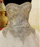 2017 A linha de vestidos de noiva com dançarina com dama Wm1708