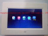 LCD de Klok van de Digitale Vertoning bij Nacht