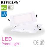 3W el panel ligero cuadrado del acrílico LED con Ce&RoHS