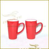 Круглая цветастая керамическая кружка кофеего штейнгута