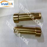 Metall maschinell bearbeitetes Prrecision Teil mit CNC dem Prägen maschinell gebearbeitet