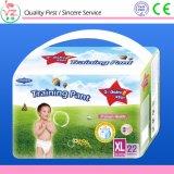 Tecido descartável respirável quente do bebê do baixo preço da venda de Guangzhou do tipo da estrela do Q-Bebê M26