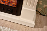 セリウムの公認の現代木製の寝室の家具の電気ヒーターの暖炉(329S)