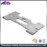 Peça fazendo à máquina anodizada personalizada do CNC da liga de alumínio para o espaço aéreo