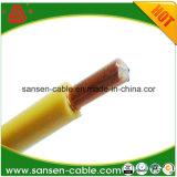Провода изоляции PVC проводника Ce кабель стандартного H07V-R 25mm медного электрического медный