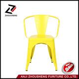 アンジのArmrestの任意選択カラーZs-T-08の産業金属のレストランの喫茶店の椅子
