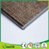 Étage 100% gris matériel du système PVC de cliquetis de vinyle de Vierge