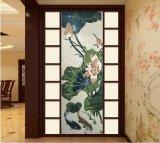 Mattonelle di vetro delle mattonelle del reticolo di arte del mosaico della pietra di arte della parete (FYSP020)
