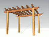 Alta resistencia al pabellón de la humedad y de las termitas WPC