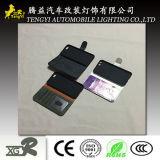 Новый случай телефона конструкции типа с застежкой -молнией и владельца карточки