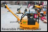 Реверзибельный тепловозный конкретный Compactor Gyp-50 плиты
