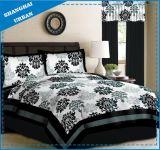 ヨーロッパの印刷されたポリエステル羽毛布団カバー寝具