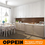 Hot Sale American Style Classical Thermofoil Kitchen Cabinet (OP16-PP04)