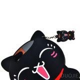 Caixa nova do telefone do silicone do gato dos desenhos animados do estilo para a tampa do telefone móvel de Oppo A33 A37 A59 F1s (G132)