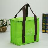 Изготовленный на заказ мешок охладителя застежки -молнии пикника печатание логоса дешевой изолированный бакалеей