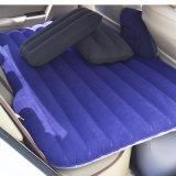車またはキャンプのための黒によって群がらせるPVC膨脹可能な旅行Airbed