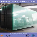 vidrio de hoja laminado destemplado claro de 1830*2440m m