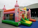 Castello felice gonfiabile superiore del partito di Slae, Funcity gonfiabile da vendere