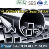 Perfil de alumínio quadrado redondo de alumínio da extrusão T5 da câmara de ar 6063