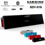 Originele Sardine sdy-019 Hifi Draagbare TF van de FM van de Spreker van de FM van de Spreker Bluetooth 10W Radio Draadloze StereoPC Nizhi Sdy019