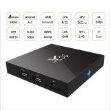 Lxx X96 Amlogic S905X 인조 인간 6.0 쿼드 코어 4k 베스트셀러 텔레비젼 상자 도매 인조 인간 지능적인 텔레비젼 세트 상단 상자
