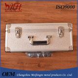 Kundenspezifischer Spitzenaluminiumkoffer-Aluminiumlegierung-Werkzeugkasten