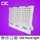 100W iluminação de inundação clara ao ar livre preta da lâmpada do projeto do corpo 10500lm
