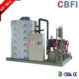 Máquina de gelo do floco para a água refrigerando