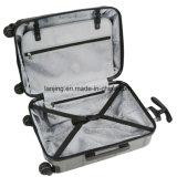 Conjunto de la maleta del hilandero del equipaje del gris de plata 3PC Hardside